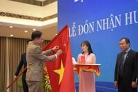 Liên hiệp các Hội UNESCO Việt Nam vinh dự đón nhận Huân chương Lao động hạng Nhất