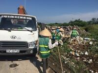 Hà Nội: Cần sớm ngăn chặn nạn đổ trộm phế thải ra đường