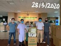 Đồng hành cùng Bệnh viện Bệnh Nhiệt đới Trung ương chiến thắng Covid-19