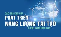 Các rào cản của sự phát triển năng lượng tái tạo ở Việt Nam hiện nay