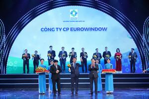 Eurowindow được vinh danh Thương hiệu Quốc gia 10 năm liên tiếp