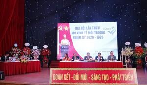 Đại hội TW Hội Kinh tế Môi trường Việt Nam lần thứ V thành công, kiện toàn tổ chức lãnh đạo