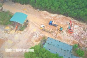 Hà Tĩnh: Ai đứng sau đường dây khai thác trái phép đá bạc gây ô nhiễm môi trường? (Kỳ 2)