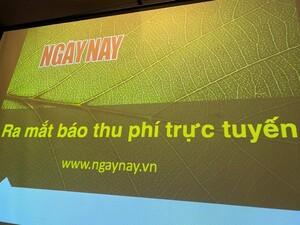 Nhà báo Phạm Hữu Quang - PTBT Tạp chí Ngày Nay: Áp lực lớn nhất là sự tin tưởng của bạn đọc