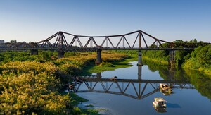 Đề xuất đầu tư hơn 8.000 tỉ đồng làm cầu đường sắt vượt sông Hồng