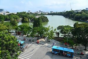 Phát triển không gian xanh đô thị theo hướng sinh thái