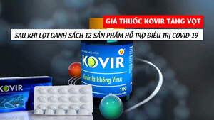 [VIDEO] Giá viên nang Kovir tăng vọt sau khi lọt danh sách 12 sản phẩm hỗ trợ điều trị Covid-19