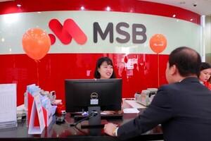 MSB và câu chuyện tăng trưởng nóng đi kèm 'bóng đen' nợ xấu