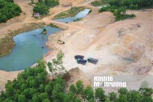 Hà Tĩnh: Lợi dụng cải tạo rừng, 'tuồn' tài nguyên đất đi tiêu thụ