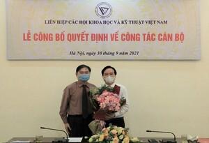 GS.TS Phùng Xuân Nhạ kiêm nhiệm chức vụ Phó Chủ tịch VUSTA