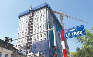 Hà Nội sẽ tháo dỡ giai đoạn II tòa nhà 8B phố Lê Trực vào tháng 5