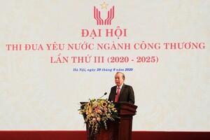 Phó Thủ tướng Trương Hòa Bình đánh giá cao nỗ lực của ngành Công Thương giai đoạn 2016-2020
