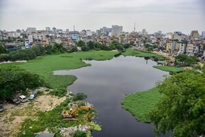Hà Nội: Sớm hoàn thành dự án cải tạo hồ Linh Quang sau 16 năm dang dở